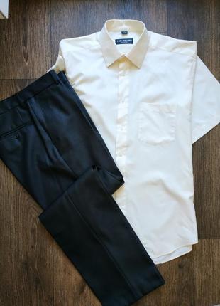 Комплект, костюм, рубашка, брюки, штаны, пиджаках