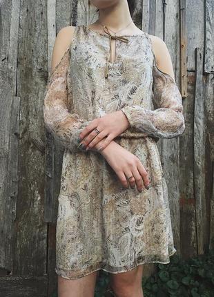 Оригинальное легкое летнее платье от kocca