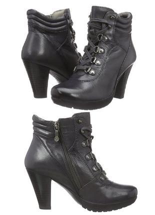 Маrc германия, оригинал! ботильоны ботинки повышенного комфорта натур кожа