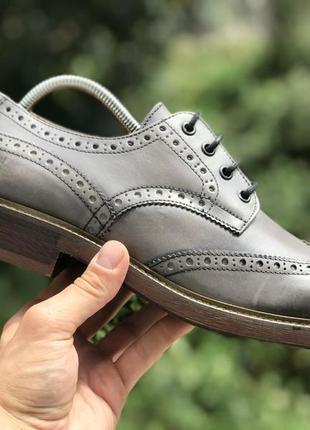 Mr b's шкіряні туфлі брогі оксфорди