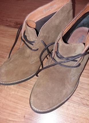 Черевики замш ботинки сапоги