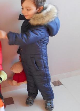 Зимний комбинезон для мальчика и девочки2 фото