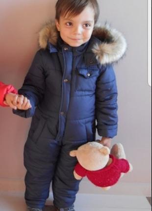Зимний комбинезон для мальчика и девочки1 фото