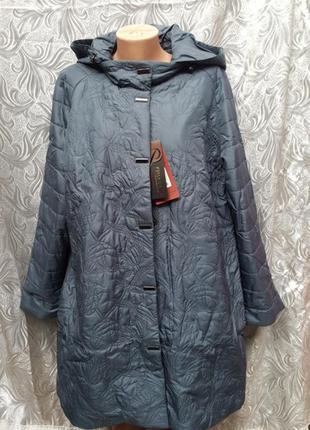 Демисезонная куртка/батал/до 66/68 размера