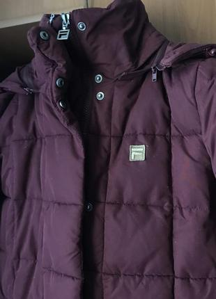 Оригинальная зимняя куртка fila фила
