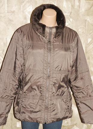 Куртка на высокую р.54-56