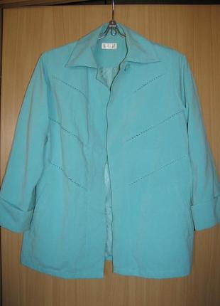 Куртка мятного цвета classics marks and spencer англия