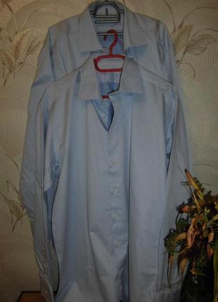 Шикарные коттоновые рубашки , большой размер , на высокий рост!