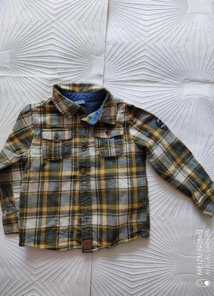 Тёплая фланелевая рубашечка