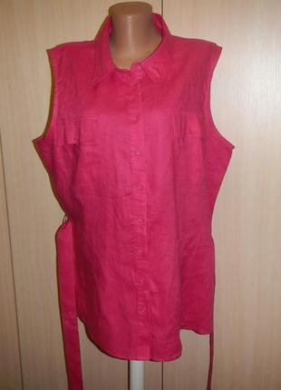 Льняная блуза tu p.22