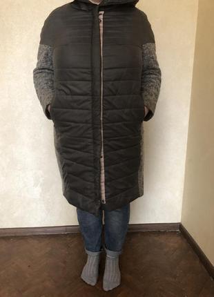 Осеннее пальто 58 размер