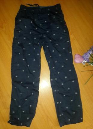 Стильные коттоновые брюки