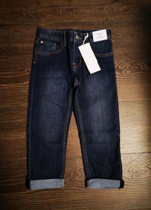 Новые прямые джинсы h&m 5 лет