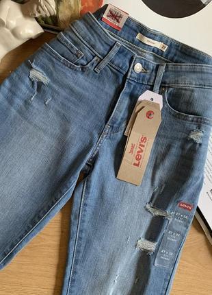 Оригинальные джинсы скини levi's с америки
