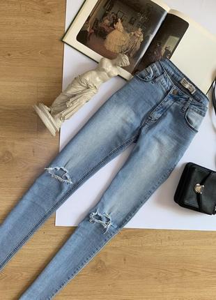 Американские джинсы скини