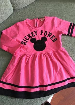 Плаття для дівчинки міні рожеве