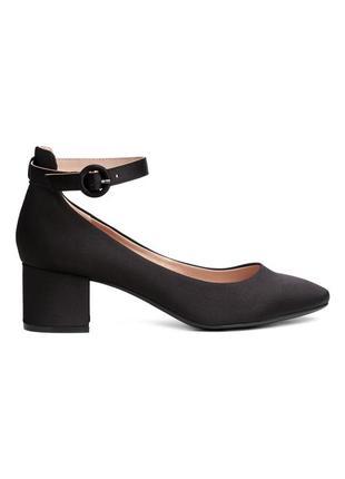 Туфли женские сатиновые h&m 38р.