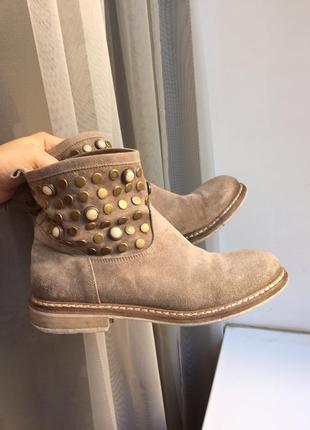 Pinko жіночі замшеві черевики/ женские замша ботинки, сапоги италия