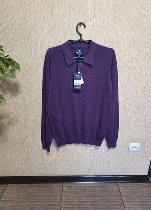 Стильный, тёплый , качественный свитер, джемпер, поло от бельгийского бренда morley