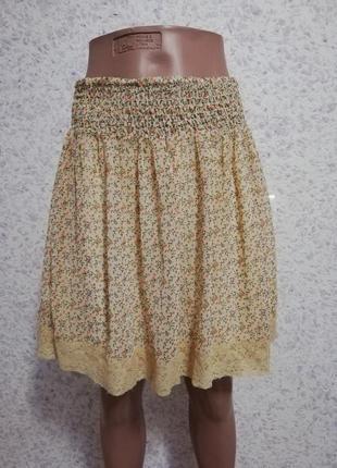 Шифонова юбка