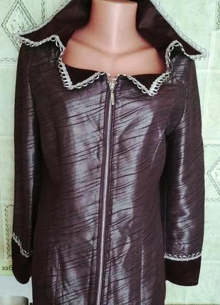 Нарядная блуза, пиджак,46-48
