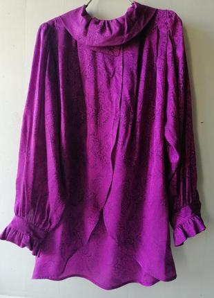 Dior винтажная шёлковая блуза. италия