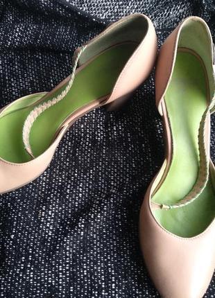 Кожаные туфли camper, р 41