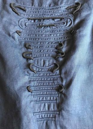 Стильное льняное платье cos оригинал