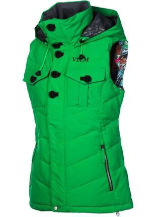 Жилет volcom пуховик лыжный или повседневный thermonite 600 лыжная куртка volkl
