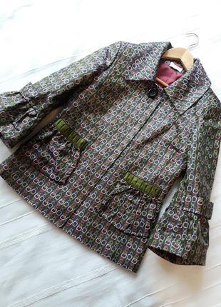 M'eg дизайнерский#эксклюзивный#необычный#шелковый жакет#пиджак#блейзер, 100% шелк.