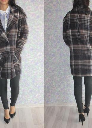 Бойфренд пальто m & s indigo