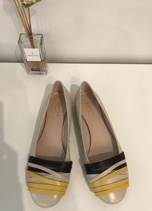 Новые туфли savoy кожа