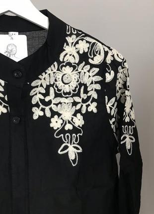 #розвантажуюсь шикарная блуза с вышивкой3 фото