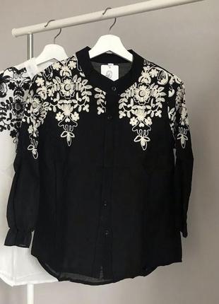 #розвантажуюсь шикарная блуза с вышивкой2 фото