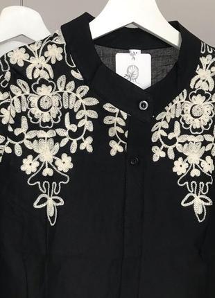 #розвантажуюсь шикарная блуза с вышивкой4 фото