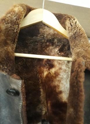 Дубленка. натуральный мех, овчина,турция.