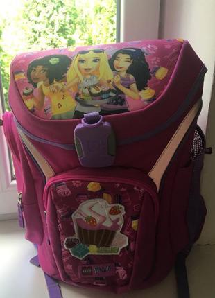 Рюкзак школьный для девочки lego