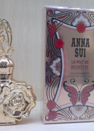 Anna sui la nuit de boheme анна сью туалетная вода оригинал