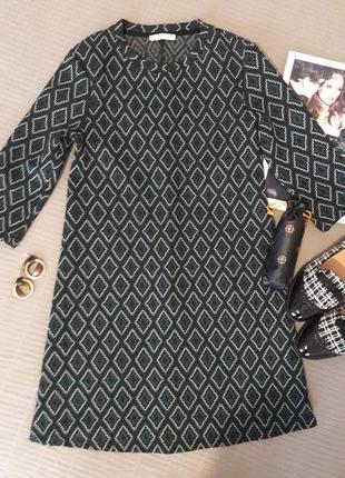 Стильное/фактурное /платье zara размер s