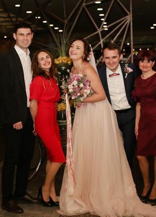 Свадебное платье8 фото