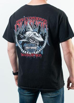 Оригинальная мужска футболка harley-davidson durban t-shirt