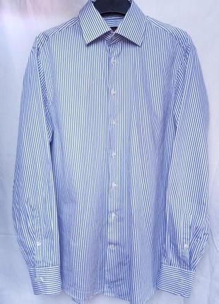 Классическая мужская ( унисекс) рубашка от jacques britt