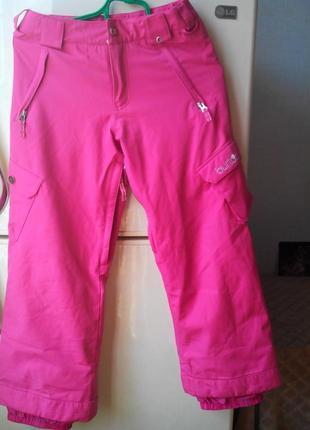 Зимние штаны burton dryride. идеальный вариант на снежную погоду