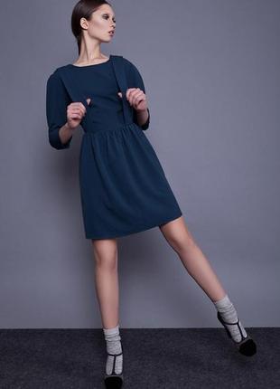 Платье черничное anna yakovenko