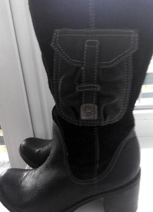 Шкіряні осінні чоботи clark*s
