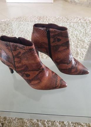 Ботинки полуботинки натуральная кожа