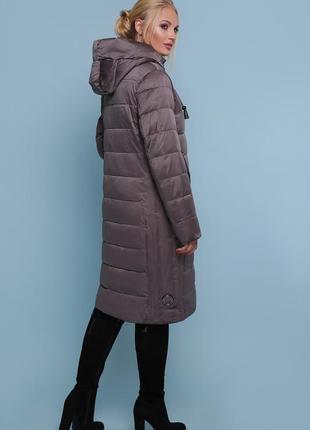 Приталенная курточка пальто
