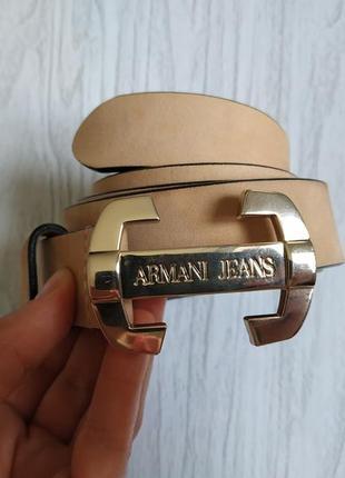 Ремень armani jeans pp m-l