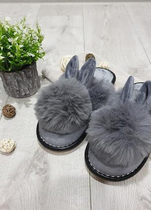 "Домашние тапочки ""кролики"""