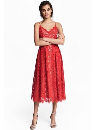 Шикарное платье h&m